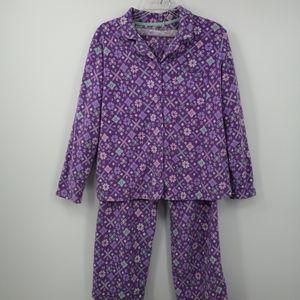 PINK Victoria's Secret Women's M Purple Pajama Set